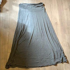 Lularoe dark heather gray maxi EUC xl